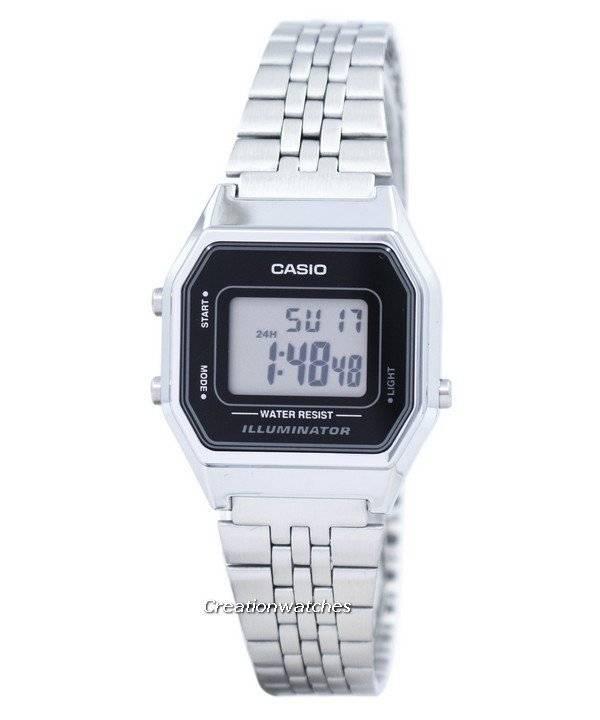 Digital Casio Illuminator Quarz Damenuhr 1 La680wa 1df 0Xnw8kOP