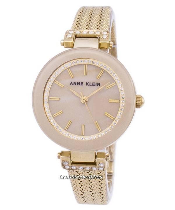 Anne Klein χαλαζίας διαμάντι εμφάσεις 1906TMGB γυναικείο ρολόι el 07195aa3759