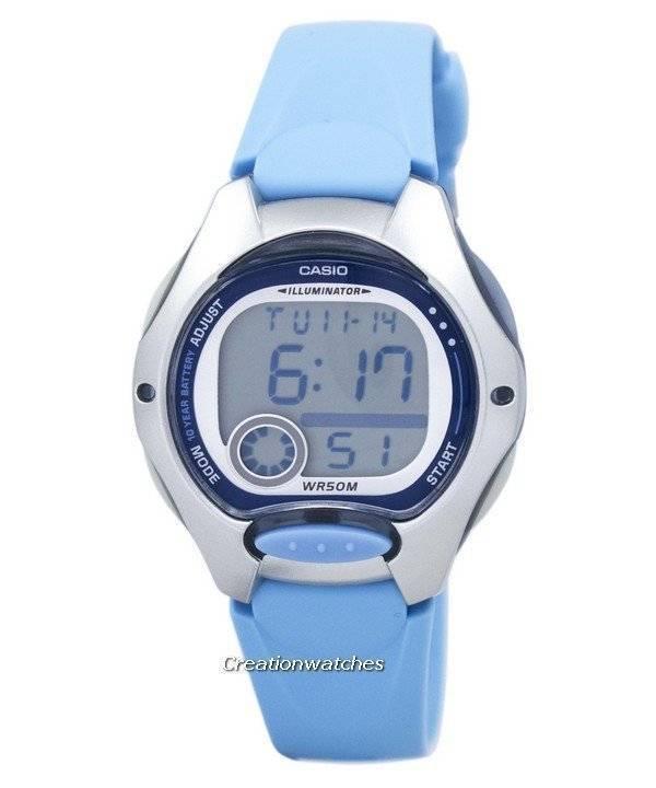 Casio ψηφιακή Αθλητισμός Illuminator LW-200-1BVDF γυναικείο ρολόι el 6d89aacbaff
