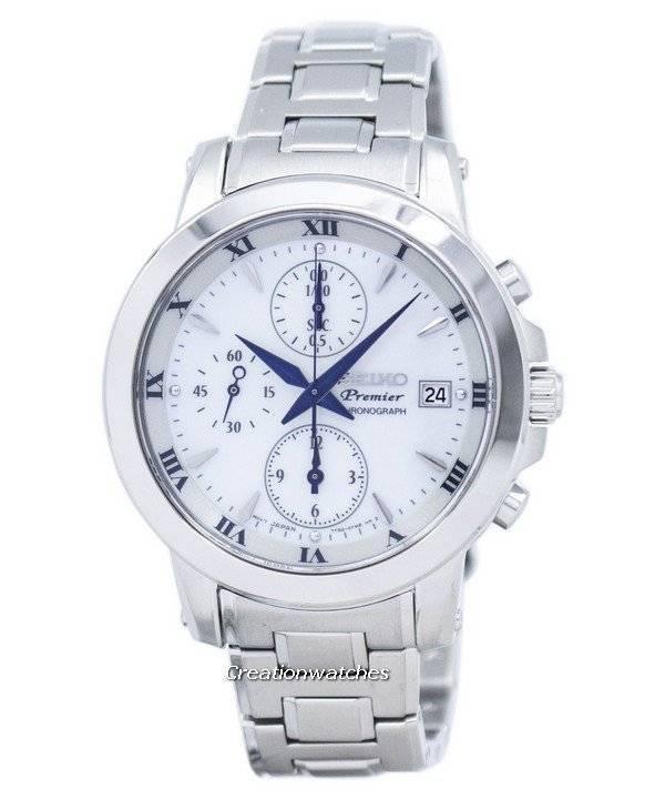 Ρολόι Seiko Quartz Χρονογράφος Premier SNDV71 SNDV71P1 SNDV71P των γυναικών 15cc9297eba