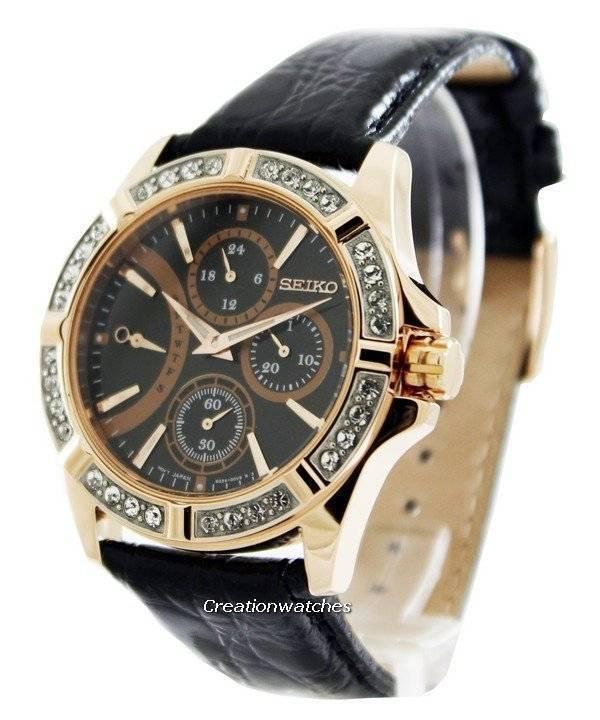 Ρολόι Seiko κυρίου σειρά κρύσταλλο Swarovski SRLZ90P1 SRLZ90P γυναίκες ca46d8551d5