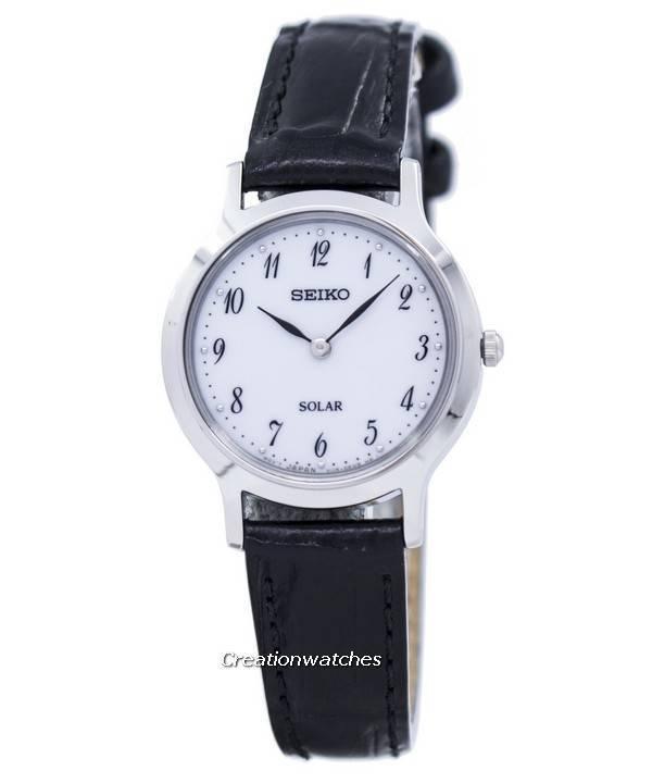 Ρολόι Seiko ηλιακή SUP369 SUP369P1 SUP369P των γυναικών el 5d4eaea7163