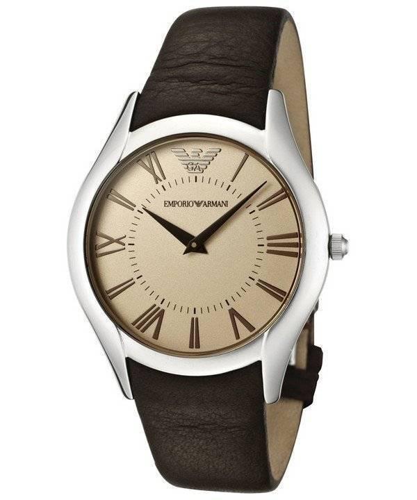 99e37b5edf67 Emporio Armani clásico Super Slim cuarzo AR2042 reloj de hombres
