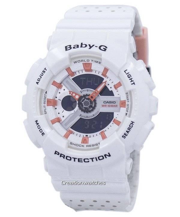 90c1c68641b8 Reloj Casio Baby-G a prueba de golpes mundial tiempo Analógico Digital BA -110PP