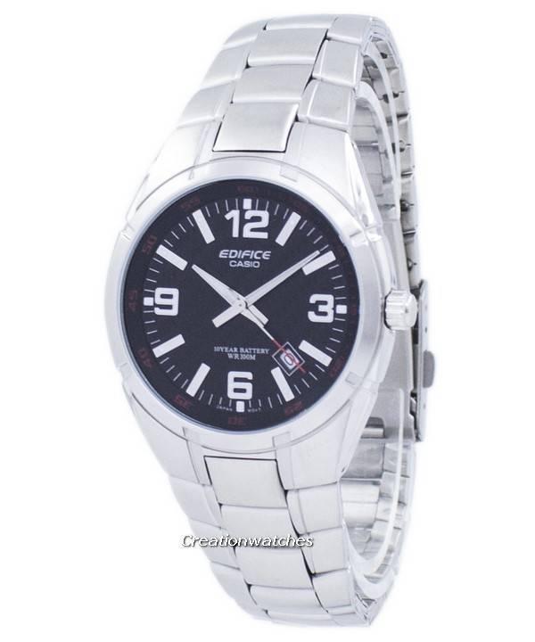 9b7f7a9565d0 Reloj Casio Edifice cuarzo analógico EF125D-1AV EF-125D-1AV hombre es