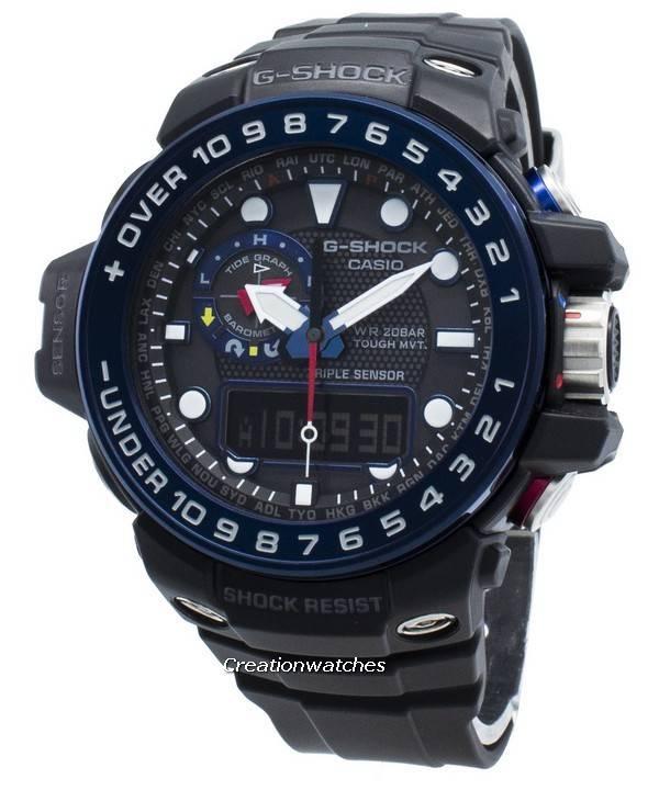 G Gulfmaster Hombres Reloj 1bjf 1000b Los Shock Atómica Casio Gwn De UqMSzVp