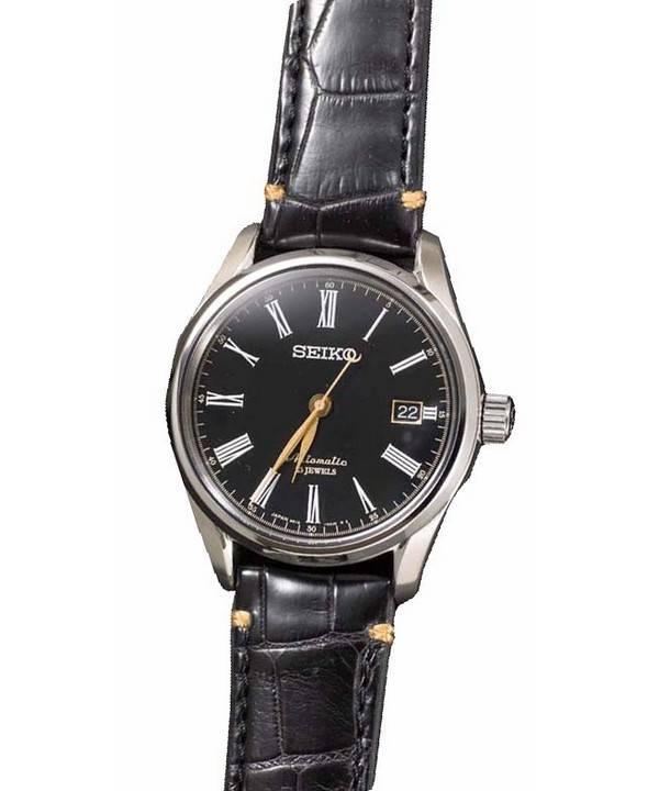 c37ca583b6e8 Seiko automático PRESAGIO 23 joyas SARX029 reloj de hombres