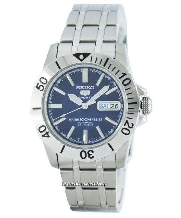 9759170f4dfe Reloj Seiko 5 Sports automático 23 joyas SNZF73 SNZF73K1 SNZF73K de los  hombres