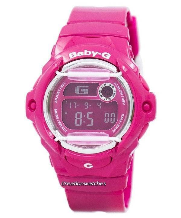 montre casio baby g rose HneMW