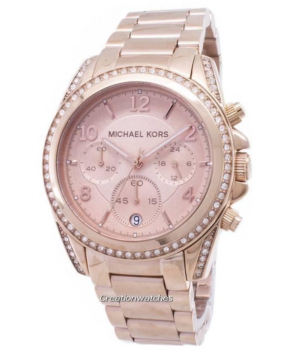 acheter et vendre authentique montre michael kors rose