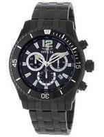 Invicta Specialty Black IP Chronograph 0624 Men's Watch