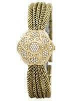 Anne Klein Quartz Swarovski Crystal Multi Chain 1046CHCV Women's Watch