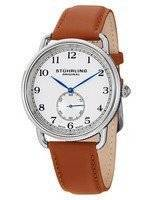 Stuhrling Original Decor Swiss Quartz Brown Leather 207.01 Men's Watch