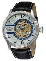Stuhrling Original Classic Delphi Prospero Automatic Skeleton 308.331516 Men's Watch