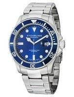 Stuhrling Original Regatta Espora Swiss Quartz Pro Diver 200M 417.03 Men's Watch