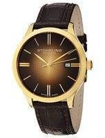 Stuhrling Original Classic Cuvette II Swiss Quartz 490.3335K31 Men's Watch