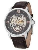 Stuhrling Original Executive II Automatic Grey Skeleton Dial 574.03 Men's Watch