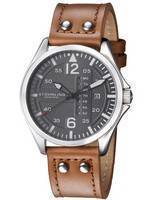 Stuhrling Original Aviator Quartz Day And Date 699.02 Men's Watch