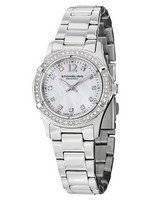 Stuhrling Original Vogue Audrey Glimmer Swiss Quartz Swarovski 703B.01 Women's Watch