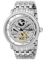 Stuhrling Original Symphony Automatic Skeleton Dual Time 8411.33112 Men's Watch