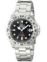 Invicta Specialty II Date Master GMT Black Dial 9401 Men's Watch