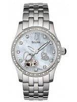 Bulova Diamond Accented Automatic 96R122 Womens Watch