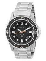 Bulova Marine Star Black Dial 98B131 Mens Watch