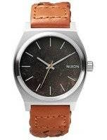 Nixon Time Teller Dark Copper Saddle Woven A045-1959-00 Men's Watch