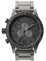 Nixon Matte Black/Matte Gunmetal Chronograph 300M A083-1062-00 Men's Watch