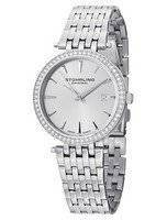 Stuhrling Original Garland Swarovski Crystal Swiss Quartz 579.01 Women's Watch