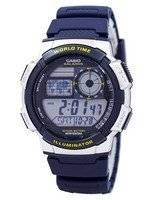 Casio Illuminator World Time Alarm AE-1000W-2AV AE1000W-2AV Men's Watch