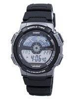 Casio Youth Digital Illuminator World Time AE-1100W-1AV Men's Watch
