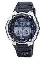 Casio Youth Illuminator World Time Alarm AE-2000W-1AV AE2000W-1AV Men's Watch