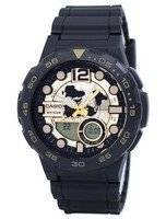 Casio World Time Alarm Analog Digital AEQ-100BW-9AV Men's Watch