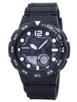 Casio World Time Alarm Analog Digital AEQ-100W-1AV AEQ100W-1AV Men's Watch