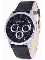 Citizen Multifunction Quartz Black Dial AG8351-01E Men's Watch