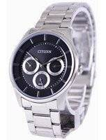 Citizen Multifunction Quartz Black Dial AG8351-51E Men's Watch