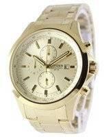 Citizen Chronograph Gold Dial Quartz AN3512-54P Men's Watch