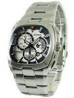Citizen Quartz Chronograph Retrograde AN9000-53C Men's Watch