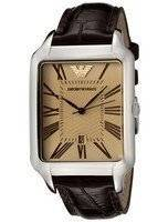 Emporio Armani Classic Amber Dial AR0426 Men's Watch