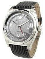 Emporio Armani Classic Textured Grey Dial AR1628 Men's Watch