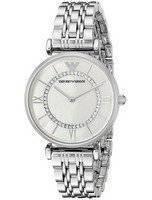 Emporio Armani Classic Quartz Diamond Accent AR1908 Women's Watch