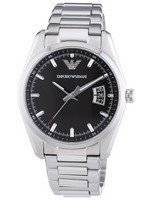 Emporio Armani Sportivo Quartz Black Dial AR6019 Men's Watch