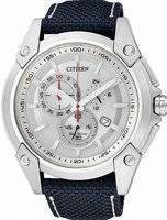 Citizen Eco Drive Chronograph AT0851-15A AT0851 Men's Sport Watch