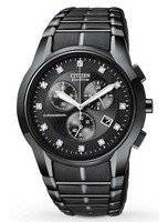 Citizen Eco-Drive Chronograph Diamond AT2055-52G Men's Watch