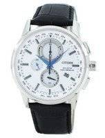 Citizen Eco-Drive Radio Controlled Chronograph World Time AT8110-11A Men's Watch