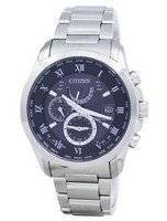 Citizen Eco-Drive Radio Controlled Perpetual Calendar World Time AT9080-57E Men's Watch