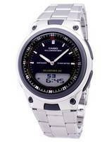 Casio Analog Digital Telememo Illuminator AW-80D-1AVDF AW80D-1AVDF Men's Watch