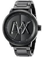 Armani Exchange ATLC Black Crystals Quartz AX1365 Men's Watch