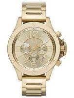 Relógio Armani Exchange Chronograph Dial Champagne AX1504 masculino